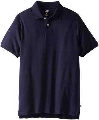 Lee Uniforms Modern Fit Short Sleeve Polo Shirt