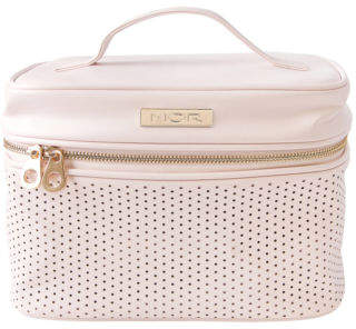 MOR NEW Destination Monaco Pink Deluxe Train Case