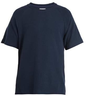 Fanmail Organic Cotton Crew Neck T Shirt - Mens - Navy