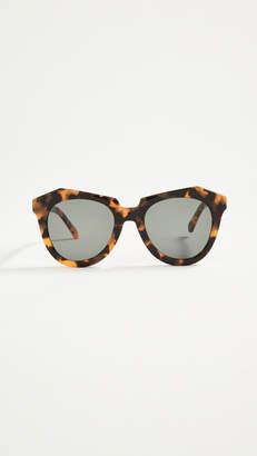 0b3b4582679f Karen Walker Number One Sunglasses - ShopStyle