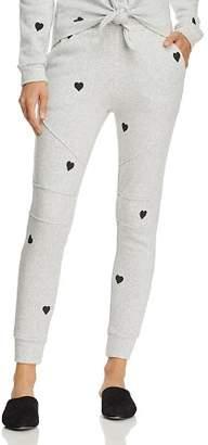 Generation Love Elliot Heart Print Sweatpants