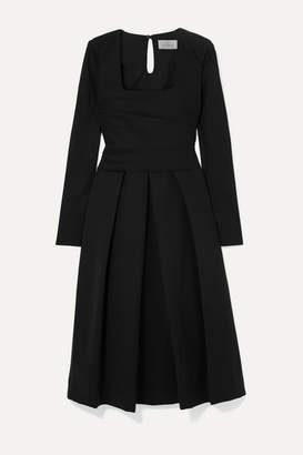 Preen by Thornton Bregazzi Gina Pleated Cady Dress - Black