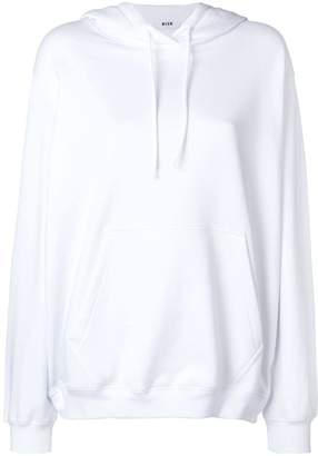 MSGM basic hoodie
