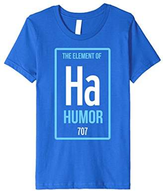 Ha The Element of Humor Periodic Table Premium T-Shirt