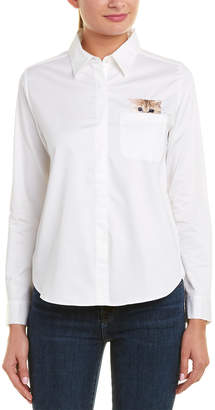 Paul & Joe Sister Leontine Cat Pocket Shirt