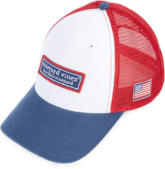 7bd05b530c4 Vineyard Vines Low Profile Tonal Classic Logo Trucker Hat
