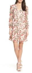 Sam Edelman Embroidered Floral Dress