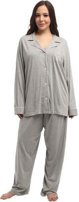 Lauren Ralph Lauren Plus Size Hammond Knits Pajama Set Women's Pajama Sets