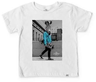 Kid Dangerous Boys' Zebra Skater Tee - Little Kid, Big Kid