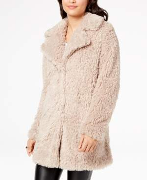 INC International Concepts I.n.c. Faux-Fur Teddy Coat, Created for Macy's