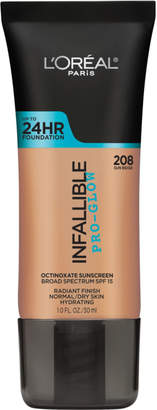 L'Oreal Infallible Pro-Glow Foundation $12.99 thestylecure.com