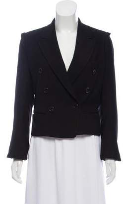 Ann Demeulemeester Double-Breasted Wool Blazer