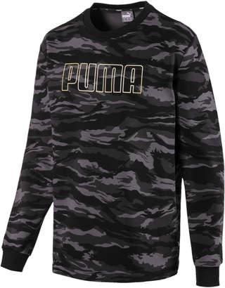 Camo Men's Fleece Crewneck Sweatshirt