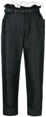Isa Arfen cropped trousers