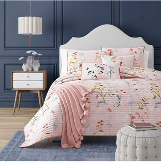 J Queen New York J by J Queen Beatrice Rose Full/Queen Coverlet Bedding