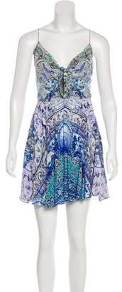 Camilla Silk Digital Print Dress