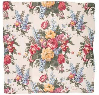 Ralph Lauren Floral Print Scarf