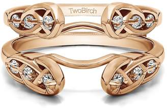Celtic TwoBirch Infinity Ring Guard Enhancer