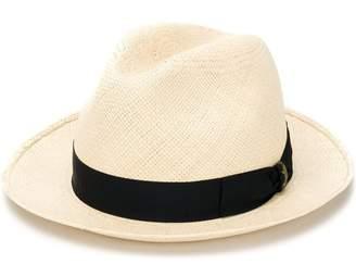 Borsalino narrow brim hat