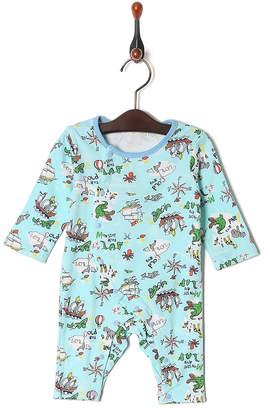 Kid's Pajama & More グリーン カバーオール