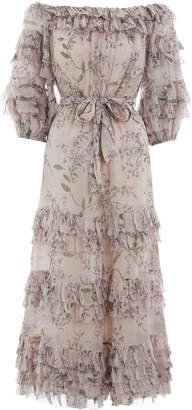 Zimmermann Unbridled Ruffle Dress