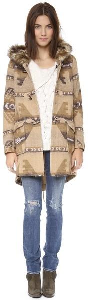BB Dakota Davina Patterned Coat