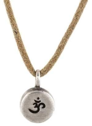 Me & Ro Me&Ro Om Pendant Necklace