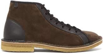 Lanvin Suede lace-up boots
