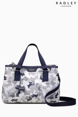 Next Womens Radley Chalk Medium Multiway Grab Compartment Bag