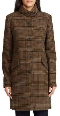 Lauren Ralph Lauren Stand Collar Coat