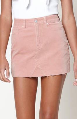 Pacsun Uncut Corduroy 5-Pocket Skirt