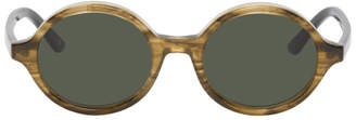 Han Kjobenhavn Tortoiseshell and Black Doc Sunglasses