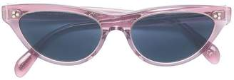 Oliver Peoples narrow cat-eye glasses