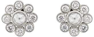 Malcolm Betts Women's Flower Stud Earrings