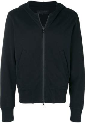 Ann Demeulemeester zipped hooded jacket