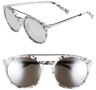 BP 55mm Mirrored Sunglasses