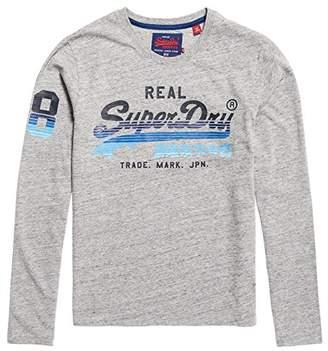 Superdry Men's VNTGE Logo CALI HORIZN L/S TEE