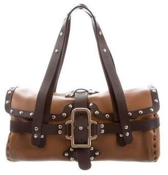 Jimmy Choo Leather Studded Shoulder Bag