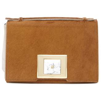 Andrew Gn Camel Pony-style calfskin Handbag