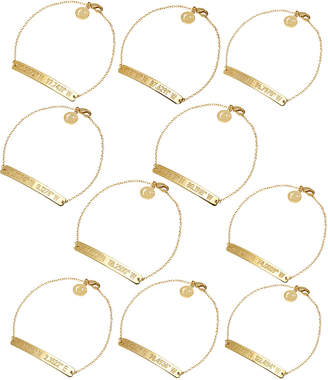 Coordinates Collection 22k Gold-Plated Nile Pendant Bracelet