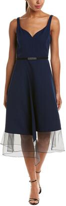 Kay Unger A-Line Dress