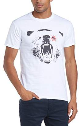 Mens Spangled Regular Fit Round Collar Short Sleeve T-Shirt Minted Travel Sale New Arrival Buy Cheap Explore FB1rmWsW