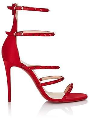 28ad840e8a Christian Louboutin Women's Forever KST Satin Sandals -.