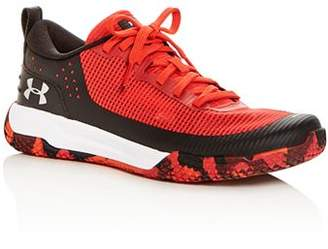Under Armour Boys' X Level MainShock Lace Up Sneakers - Big Kid