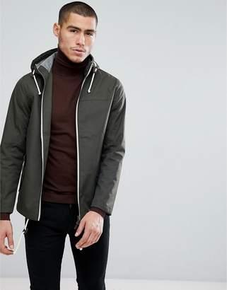 Brave Soul Contrast Zip Jacket