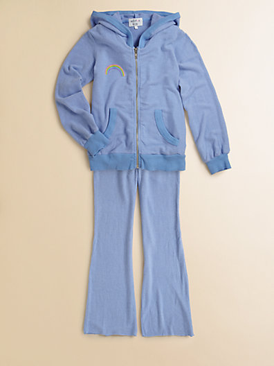 Wildfox Couture Kids Girl's Somewhere Zip-Up Jacket