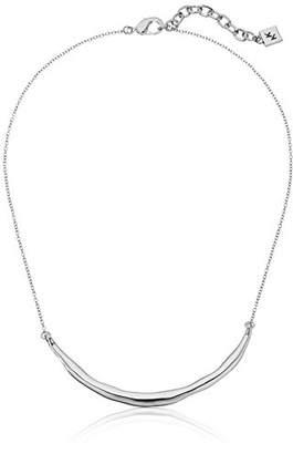 Karen Kane High Polish New Moon Collar Necklace