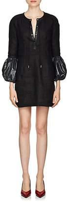 J.W.Anderson Women's Linen Mini-Shift Dress
