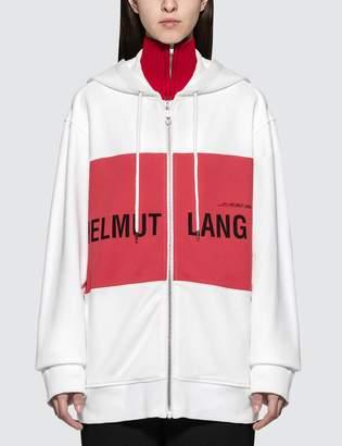Helmut Lang Campaign PR Panel Zip Hoodie