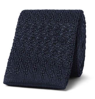 Brioni 6cm Knitted Silk Tie